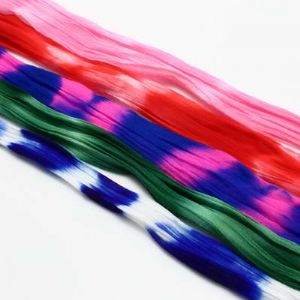 Two colours Specially dyed nylon, Nylon, Assorted colours, 5 pieces, Stretched size 1.5m x 15cm, [SWW0326]